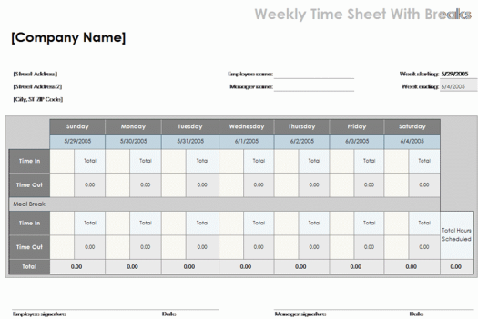 Time-Log-Sheet