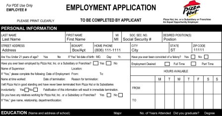 The 6 Rules for Completing Job Application Forms and Personal Profiles