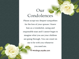 Condolence Letters - Writing a Condolence Letter to an Adult Who Has Lost a Parent