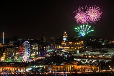 Edinburgh Hogmanay Events Brochure