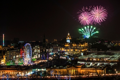 Edinburgh Hogmanay Events Brochure