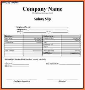 A Quick Guide to Various Wage Slips and Forms-
