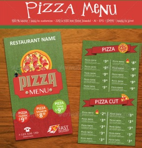 Is Your Pizza Menu a Bad Ad