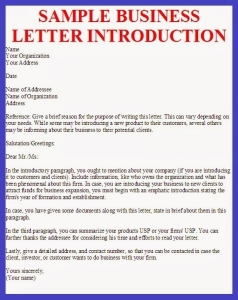 Using Introduction Letters for Your New Direct Sales Business