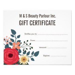 How to Formulate the Right Gift Certificate Wording